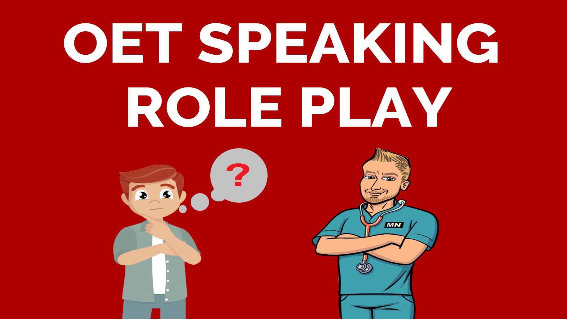 OET SAMPLE SPEAKING ROLE PLAY FOR NURSES - WORRIED PATIENT