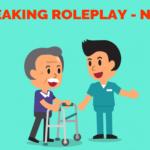 OET SPEAKING ROLEPLAY – ADVISING TO USE WALKER